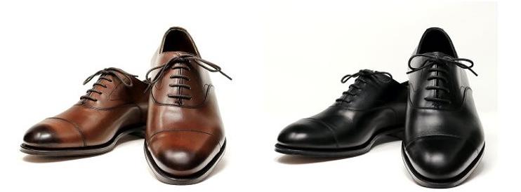 エドワードグリーン(edward green)のブラックとブラウンの『チェルシー(Chelsea)』モデルの革靴