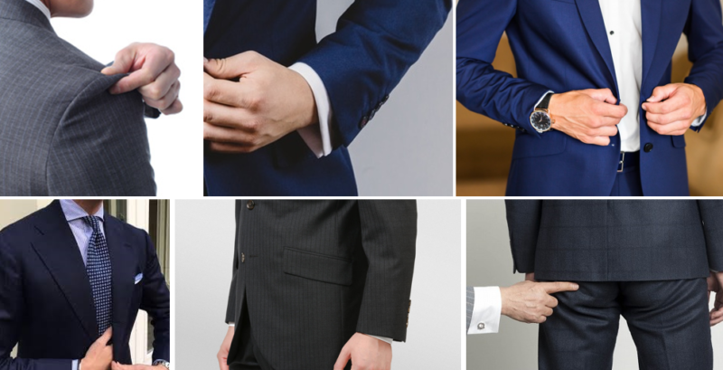 スーツ姿がかっこいい男性