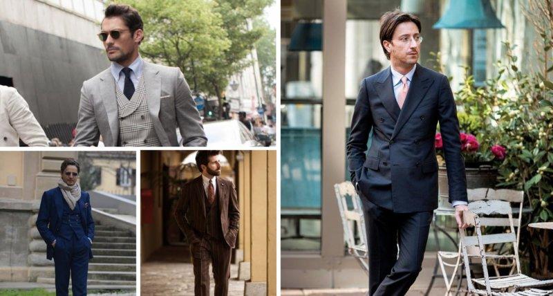 スーツ姿がかっこいい外国人男性