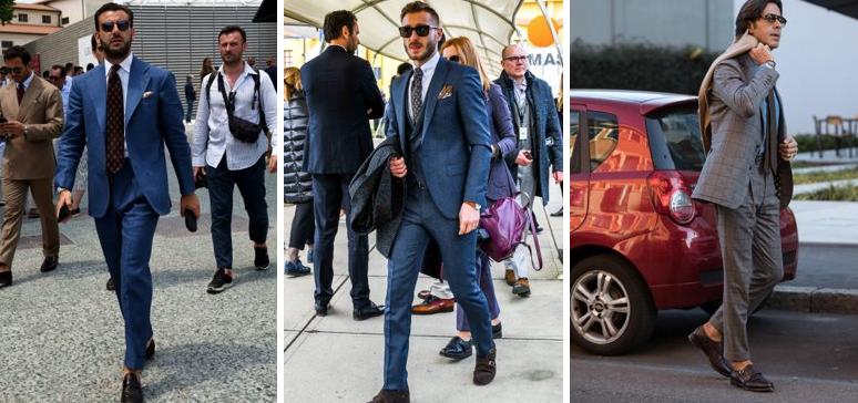 かっこいいスーツ姿の外国人男性