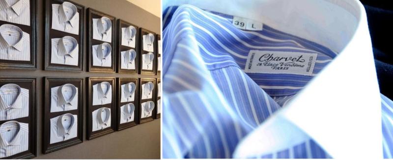 シャルべ(charvet)のオーダーシャツ