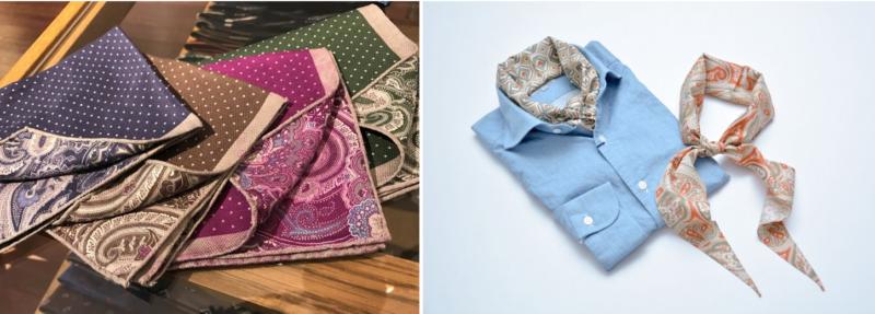フェアファクス(FAIRFAX)のスカーフとハンカチチーフ