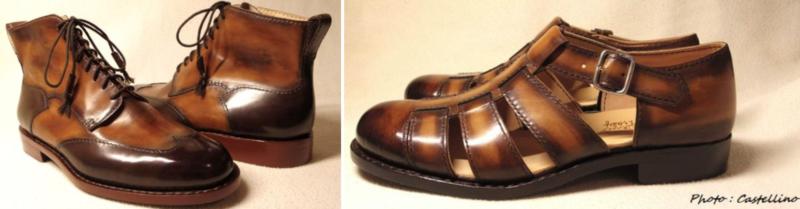 イタリアのオーダーメイドの靴