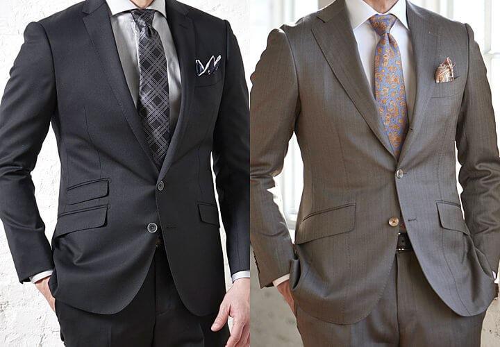 スーツ ポケット