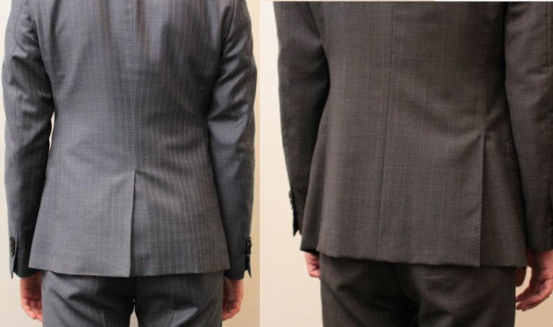 スーツ ベント
