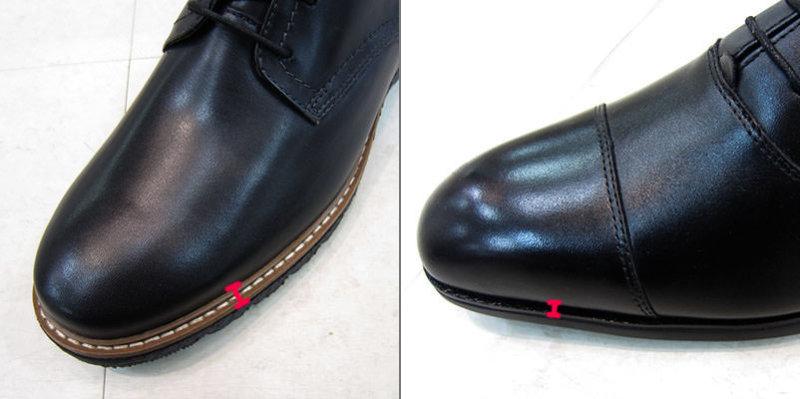 革靴 コバ