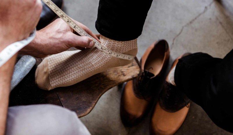 革靴 フィッティング