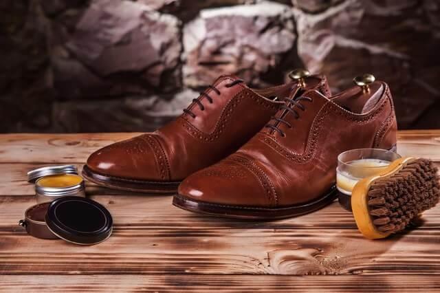 革靴 ミンク オイル