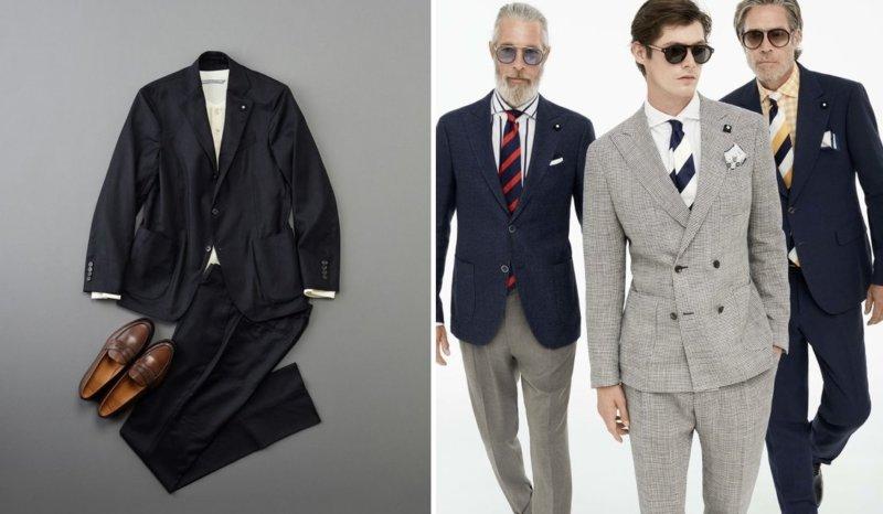 スーツ 体型