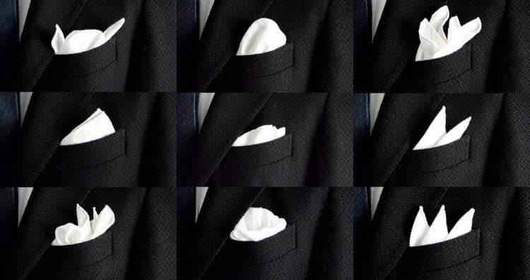 スーツ チーフ