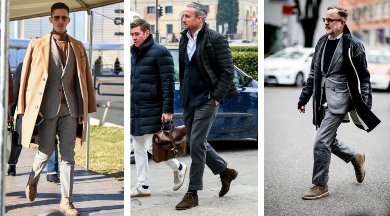 スーツ ブーツ